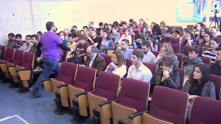 """""""Acto de Apertura"""". IX Jornada de la Cátedra de Economía Social  de la Universidad de Murcia."""