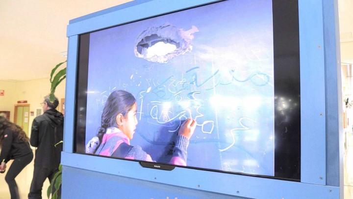 La Facultad de Educación ha realizado una original actividad sobre los derechos del niño