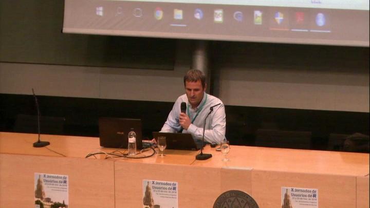 Conferencia plenaria X Jornadas de Usuarios de R a cargo del Dr. François Husson