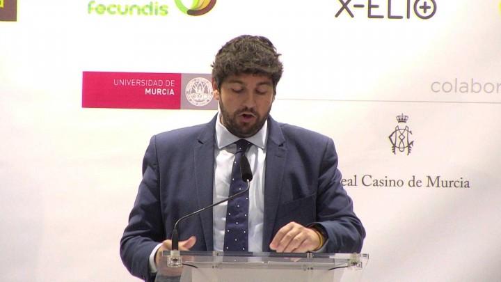 D. Fernando López Miras, presidente de la Comunidad Autónoma de la Región de Murcia