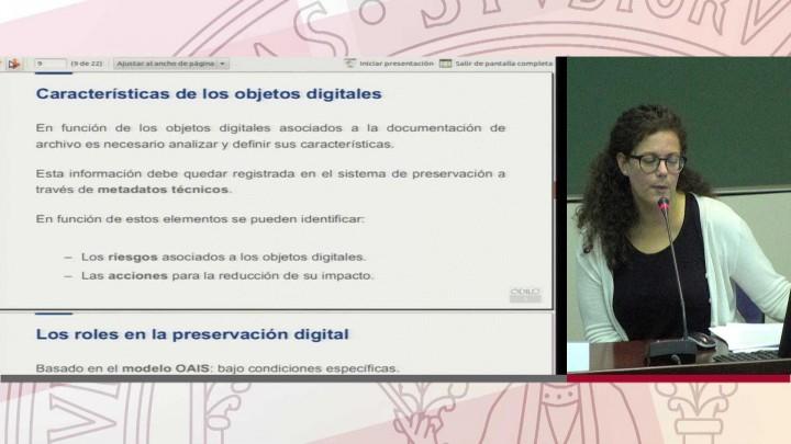 Preservación digital. Odilo Preserver