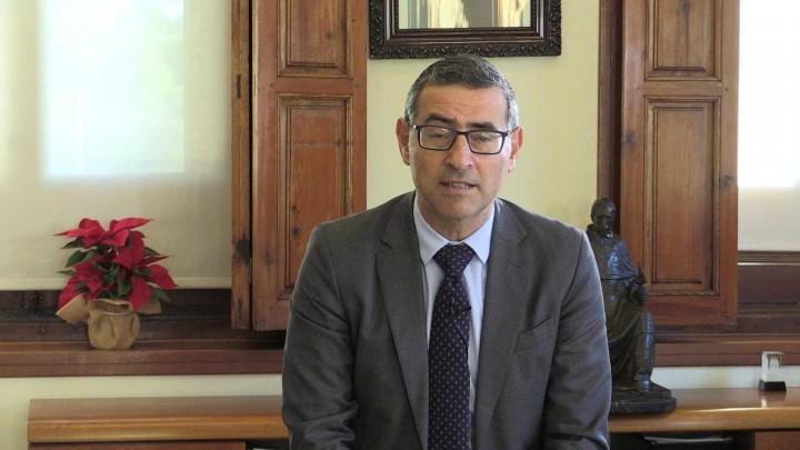 El rector de la Universidad de Murcia os desea una feliz Navidad