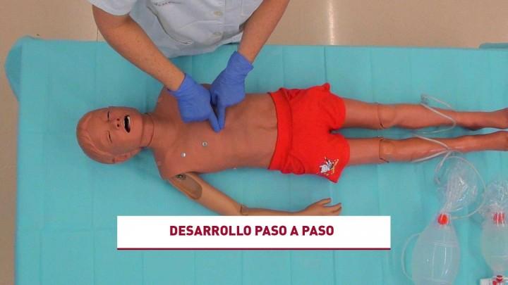 Habilidades  en: Compresiones torácicas de calidad en el niño