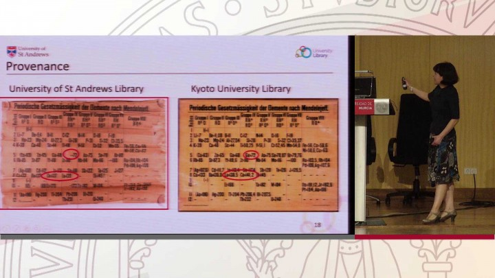 Key note: M. Pilar Gil, Univ. St Andrews (UK)