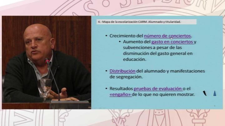 Conferencia Educación en Murcia. Miradas a su realidad socio-educativa