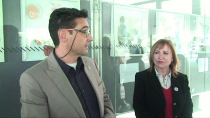 """Vídeo de la inauguración de la exposición """"Personajes de la Crisis"""" de Antonio García López"""
