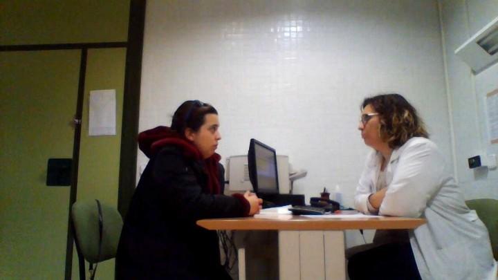 Video entrevista clínica.