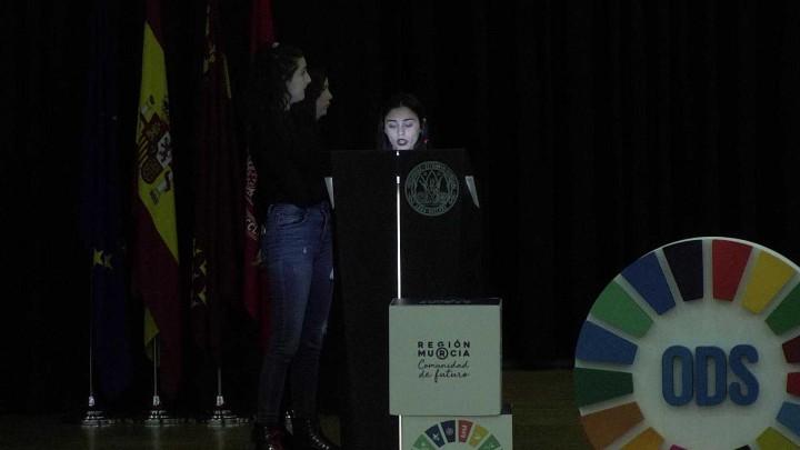 Representación, Performance, alumnado del IES Mediterráneo-JUan Carlos I: Educación y ODS