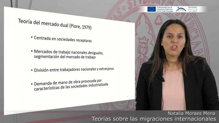 Teorías sobre las migraciones internacionales