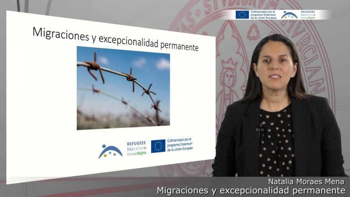 Migraciones y excepcionalidad permanente