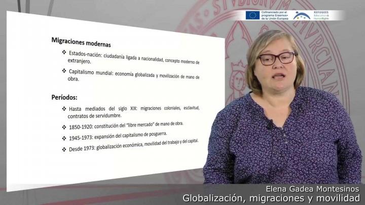 Globalización, migraciones y movilidad