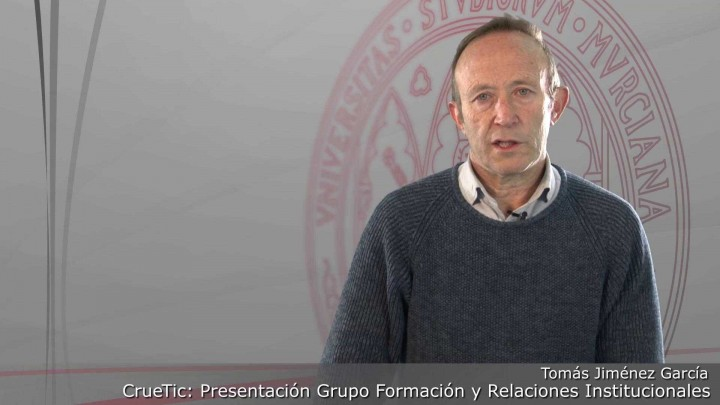 CrueTic. Grupo formación y relaciones institucionales