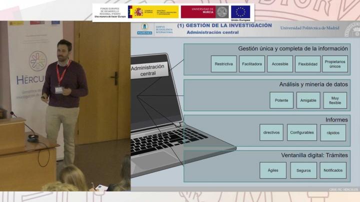 Jornadas HÉRCULES-2x2-Necesidades informáticas actuales para la gestión de la investigación