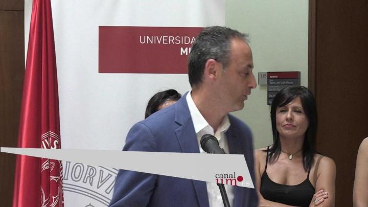 El rector recibe a los estudiantes de Secundaria de la Región premiados en las Olimpiada de Economía