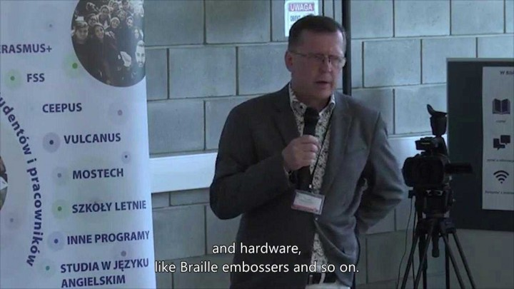 MobiAbility Project - Final meeting at Lublin (POL), subtitles