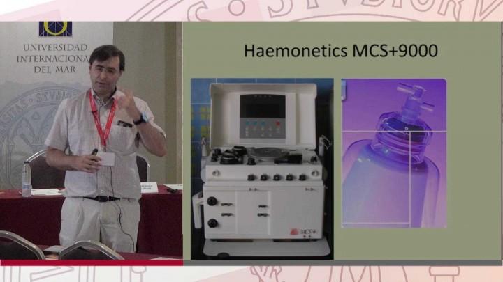 Adquisición de progenitores hematopoyéticos: selección celular.