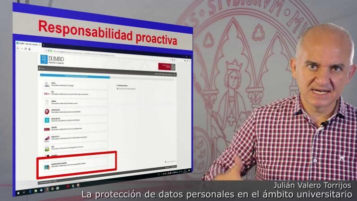 La protección de datos de carácter personal en el ámbito universitario