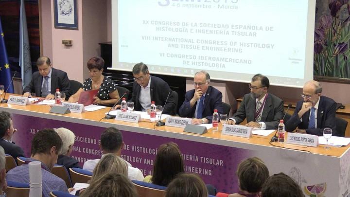 Comienza la actividad universitaria con el Congreso de la Sociedad Española de Histología