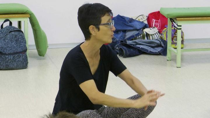 """Ponencia/Taller: """"Acción y performance. El cuerpo como lugar para la creación""""."""