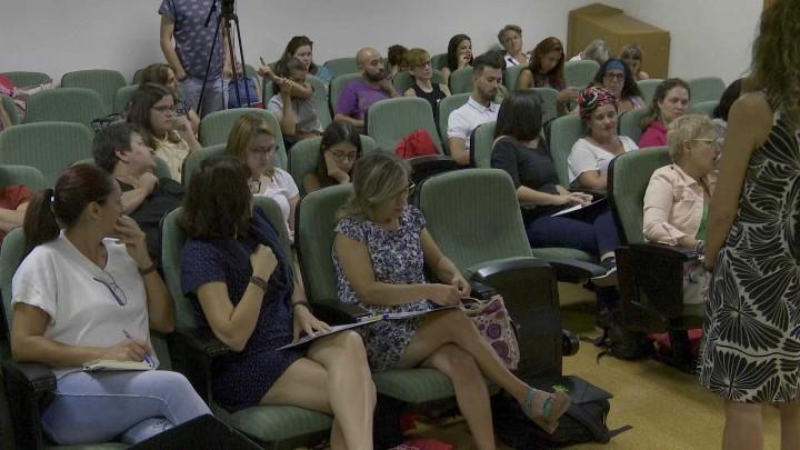 """""""Mediación Artística: Lenguajes y Contextos"""". Debate final. Dra. Ascensión Moreno González"""