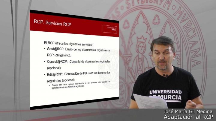 Adaptación al RCP. Aspectos técnicos