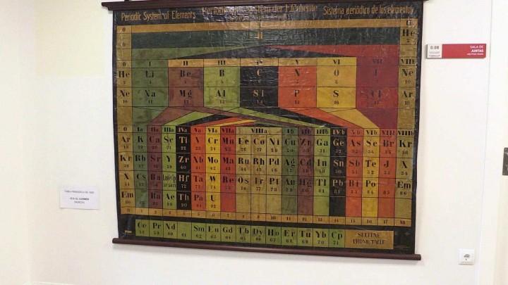 La Universidad de Murcia y Correos han presentado el sello de la tabla periódica
