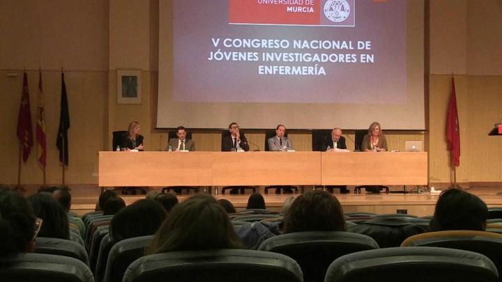 La UMU ha acogido estos días el V Congreso Internacional de Jóvenes Investigadores en Enfermería