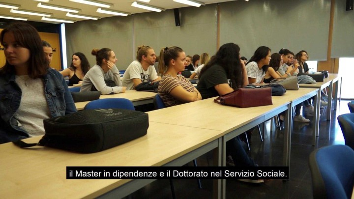 Vídeo promocional facultad Trabajo Social