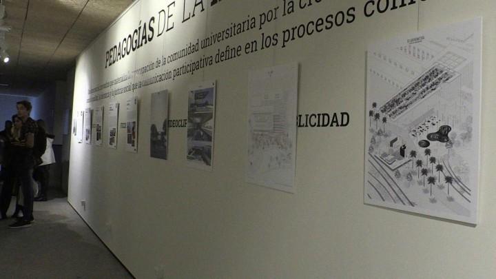 La facultad de Comunicación acoge la exposición 'Perspectivas. Comunicación + arquitectura'