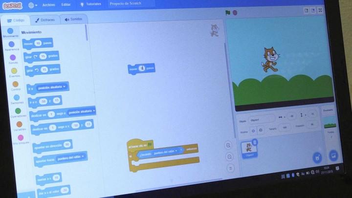 'Robótica y nuevas tecnologías para alumnos de educación primaria'
