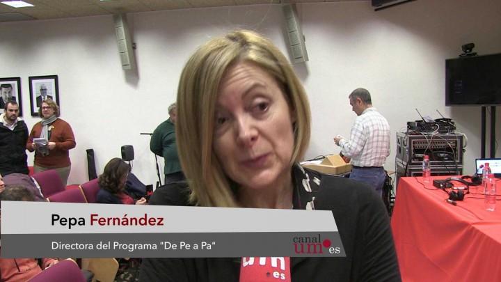 RNE ha realizado un programa en directo desde la facultad de Comunicación y Documentación
