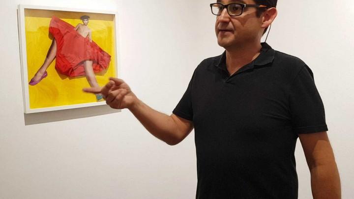 Exposición Personajes de Corta y Pega