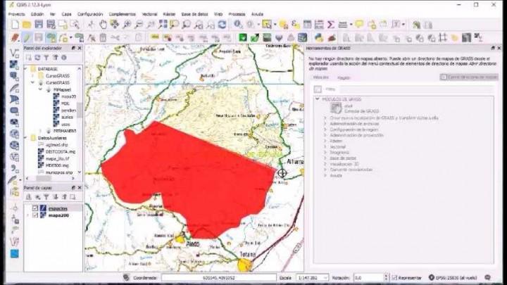 Sistemas de Información Geográfica. Práctica 3