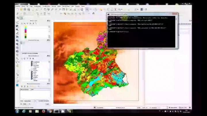 Sistemas de Información Geográfica. Práctica 5