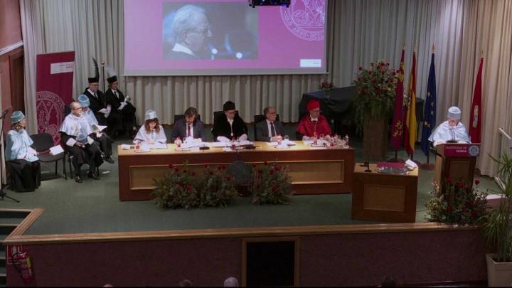 Solemne investidura como Doctor Honoris Causa de D. Alfonso Rodríguez Gutiérrez de Ceballos