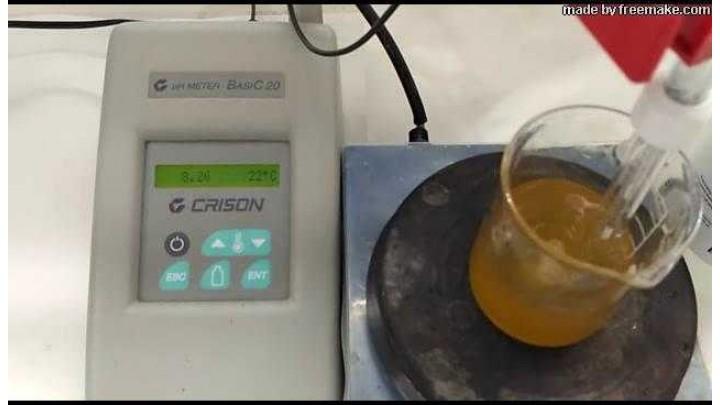 Determinación de Sólidos Insolubles en Miel