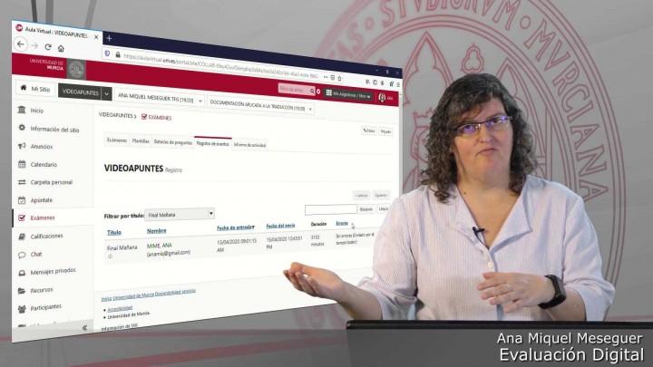 Introducción a la herramienta Exámenes del Aula Virtual