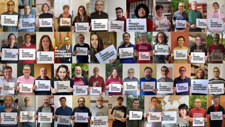 Campaña solidaria #NingúnEstudianteAtrásUMU
