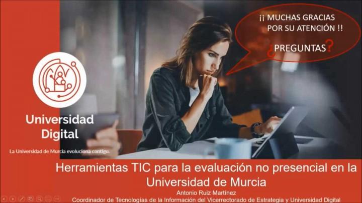 Herramientas TIC para la evaluación no presencial