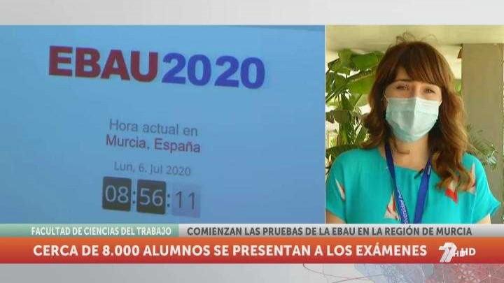 Arranca la EBAU 2020