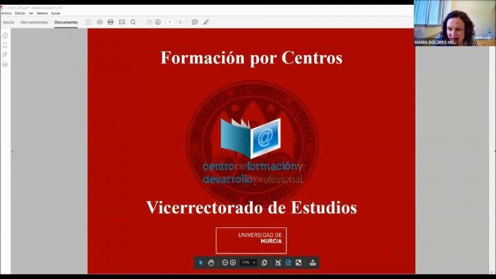 Experiencias innovadoras con Aula Virtual para la docencia semipresencial. Facultad de Química