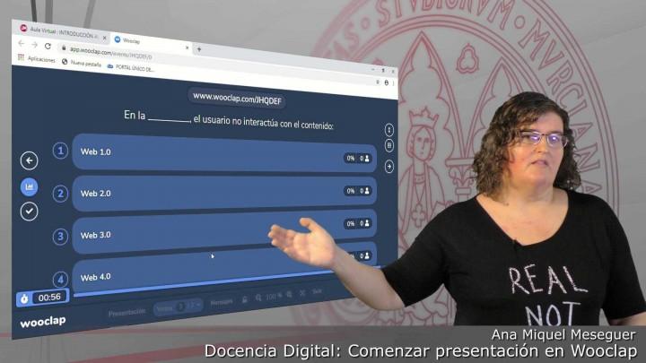 Comenzar una presentación con un cuestionario interactivo en una clase con estudiantes