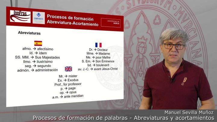 14-Procesos de formación de palabras-Abreviación y Acortamiento