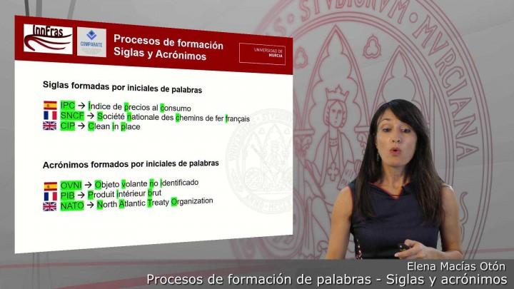 15-Procesos de formación de palabras-Siglas y Acrónimos