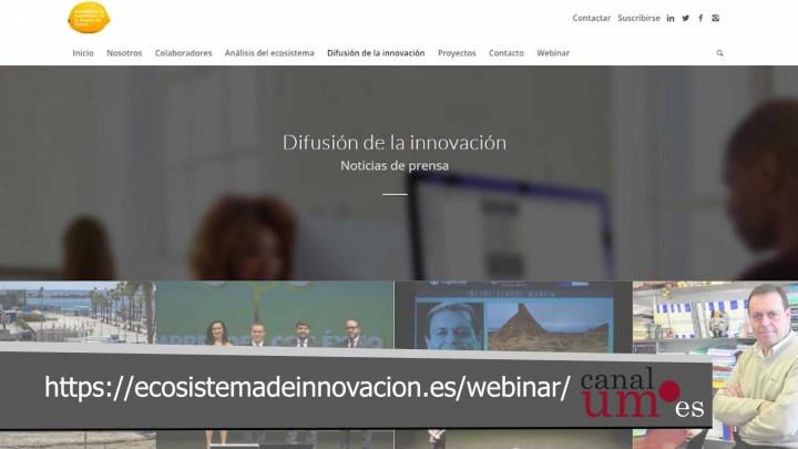 Mañana se presentan los resultados del Ecosistema de Innovación de la Región de Murcia