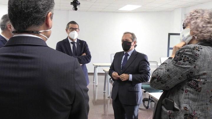 ¿Conoces la ENAE? Hoy el rector de la UMU ha visitado sus instalaciones