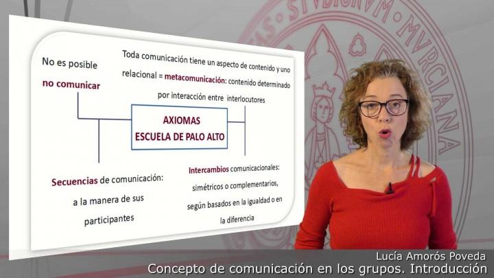 Concepto de comunicación en grupos