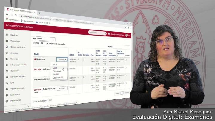 Introducción a la nueva versión de la herramienta Exámenes del Aula Virtual