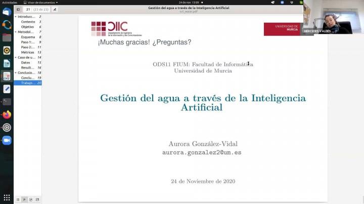 Charlas informática: inteligencia artificial y el ODS 11