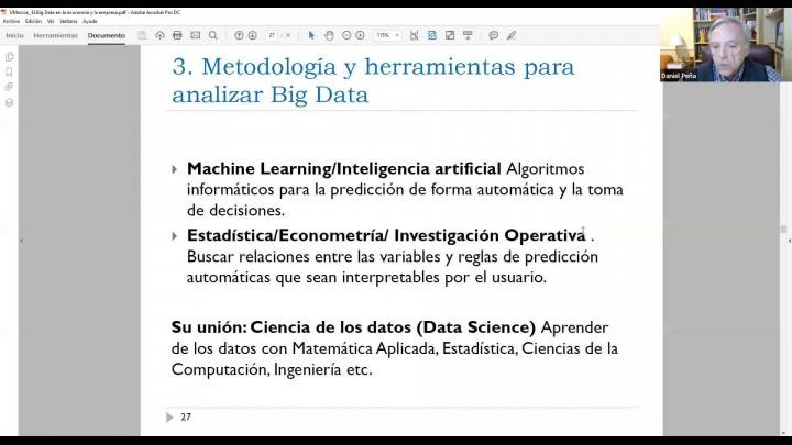 El Big Data en la economía y la empresa..
